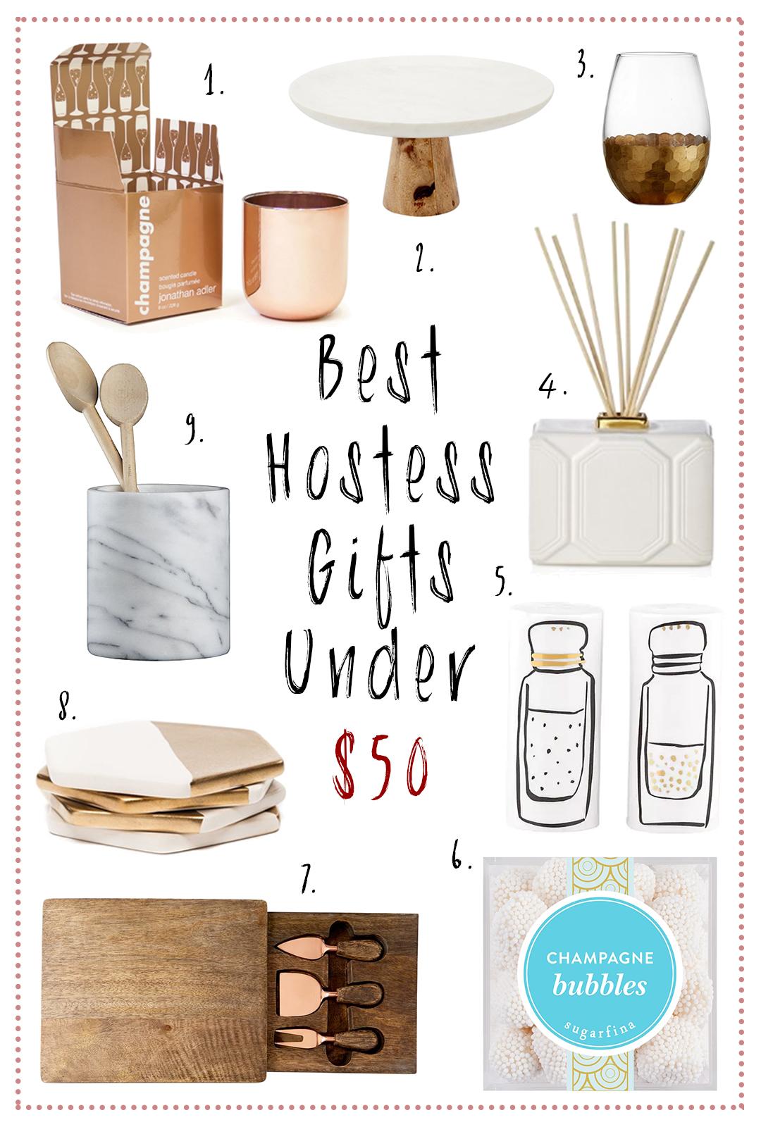 Best Hostess Gifts Under 50 Cinnamon Style